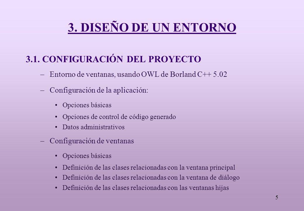 5 3. DISEÑO DE UN ENTORNO 3.1.