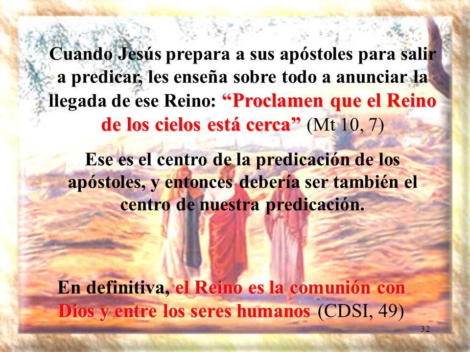 31 Los misioneros son esas personas que tienen el corazón dilatado, bien amplio, y no les preocupa sólo la conversión de un individuo.