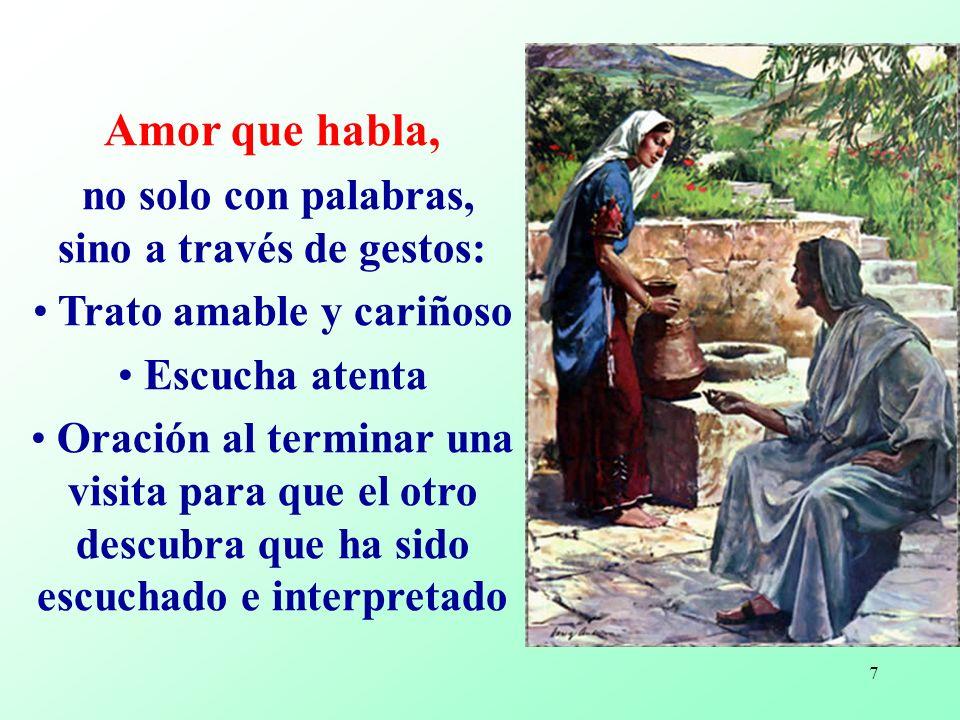 6 A partir de la convicción serena y feliz de ser amados por Cristo, es que nosotros somos misioneros.