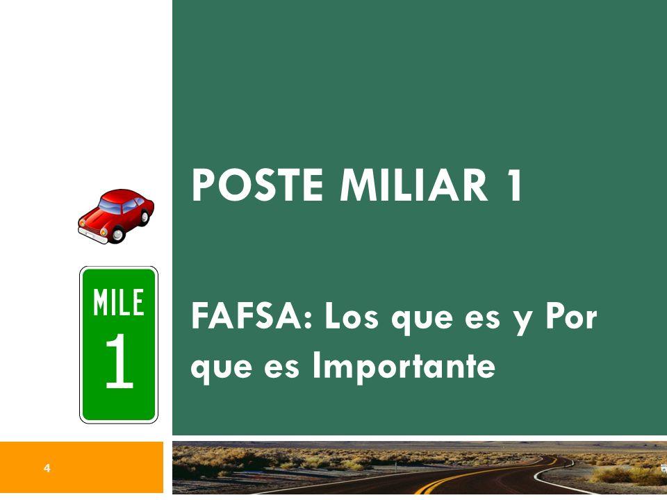 POSTE MILIAR 3 ÚLTIMOS CONSEJOS DE SALIDA 3 15