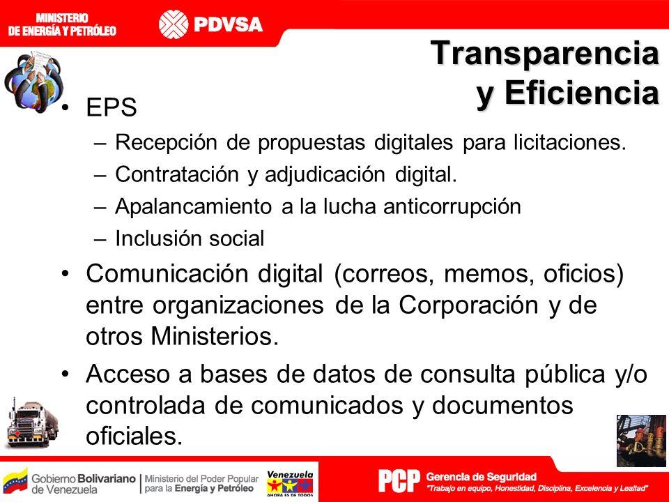 Transparencia y Eficiencia EPS –Recepción de propuestas digitales para licitaciones.