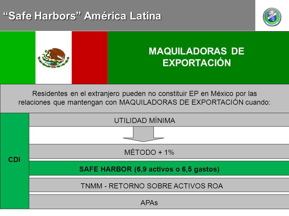 COLOMBIA MEXICO CHILE CONCEPCIÓN AMPLIA DEL CONCEPTO PARTE RELACIONADA MAQUILADORAS DE EXPORTACIÓN Residentes en el extranjero pueden no constituir EP
