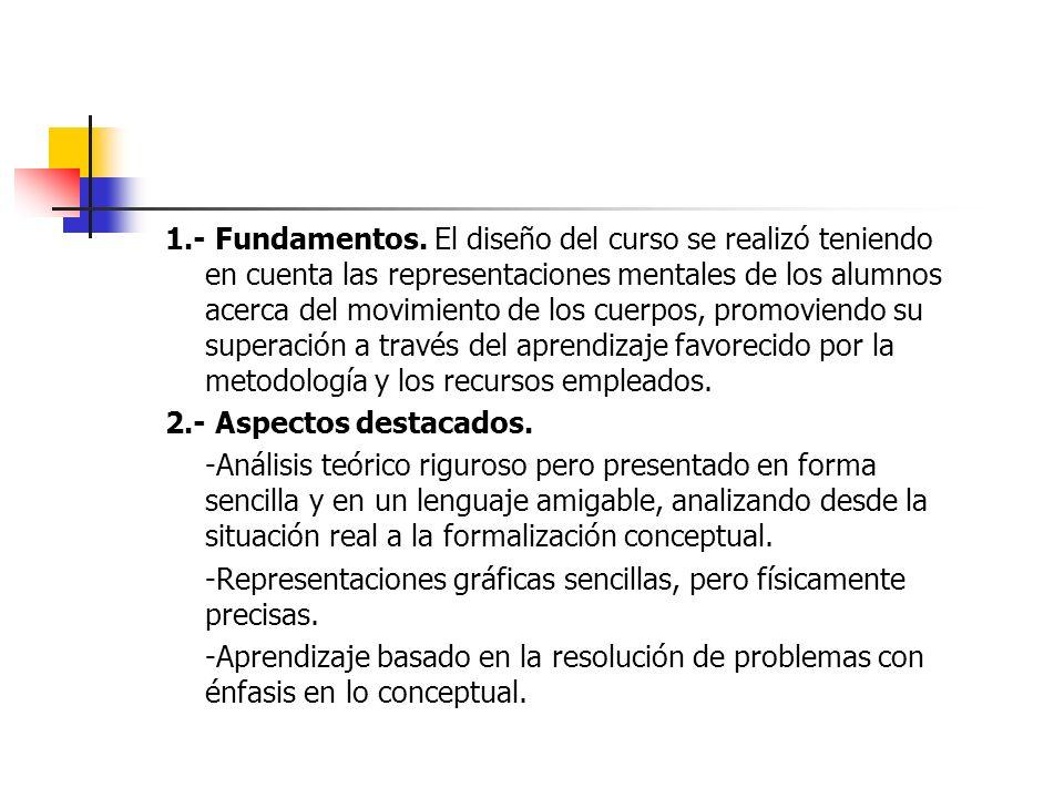 1.- Fundamentos.