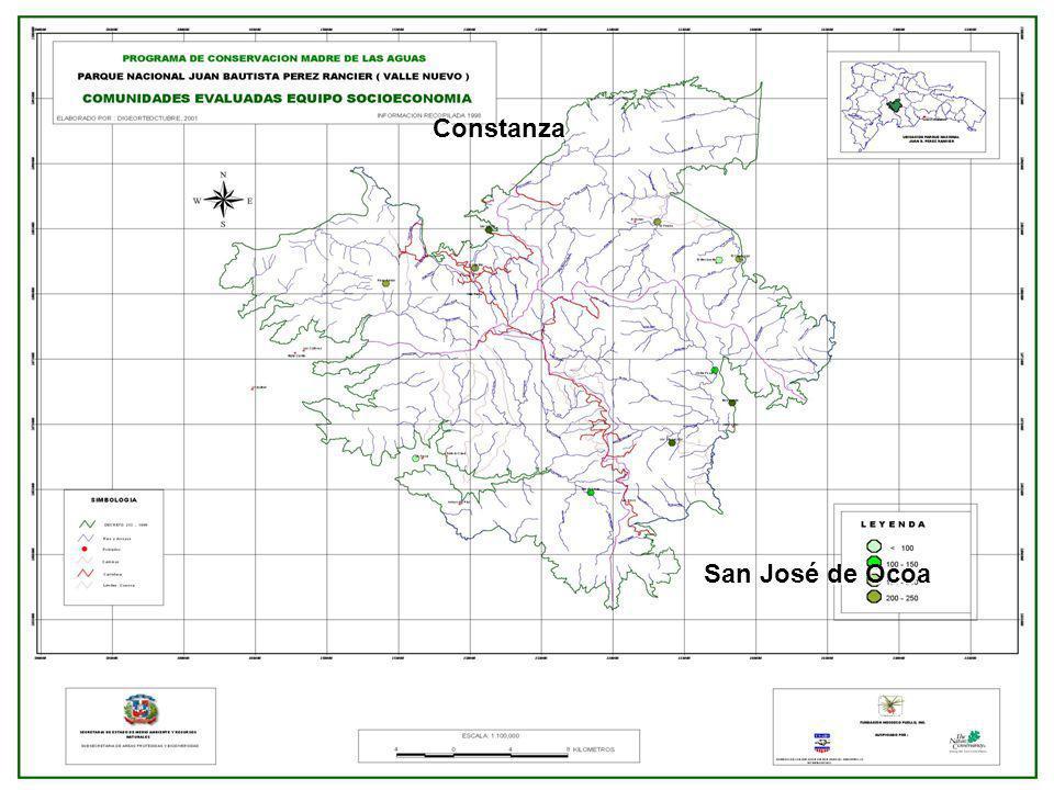 1.2 DESCRIPCION BIOFISICA Flora y vegetación Flora y vegetación Para el PNJBPR se reportan 531 especies de plantas, de la cuales 401 son espermatofitas y 130 son helechos y asociadas.