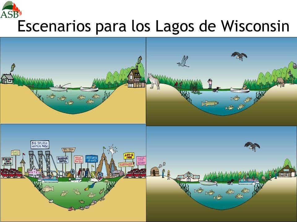 Escenarios para los Lagos de Wisconsin