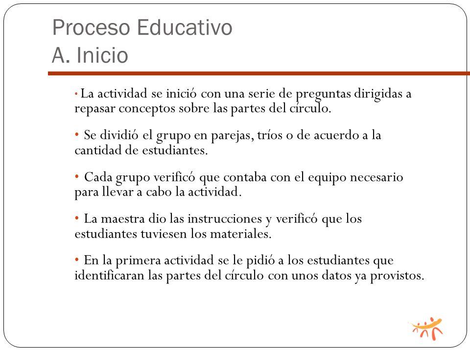 Proceso Educativo A.