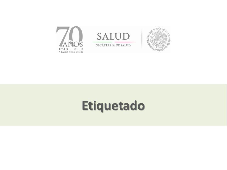 Julio, 2013 Etiquetado