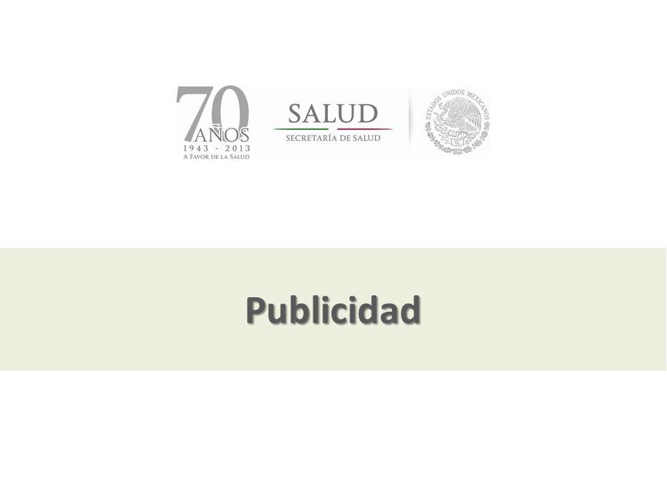 Julio, 2013 Publicidad