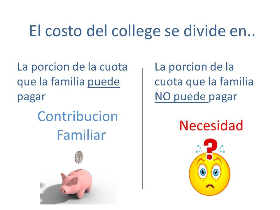 Comparativa de 4 colleges