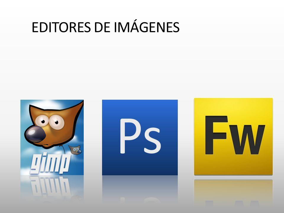 EDITORES DE IMÁGENES