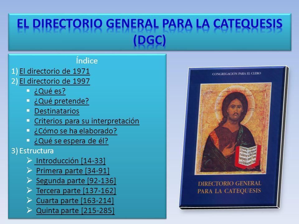 Índice 1)El directorio de 1971El directorio de 1971 2)El directorio de 1997El directorio de 1997 ¿Qué es.