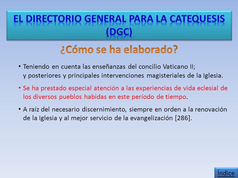 Teniendo en cuenta las enseñanzas del concilio Vaticano II; y posteriores y principales intervenciones magisteriales de la Iglesia.