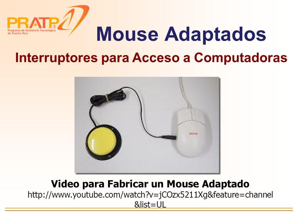® Juguetes Adaptados Interruptores y adaptadores de batería Video para Fabricar Adaptador de Batería http://www.youtube.com/watch?v=WojdU 4k_oTk&featu