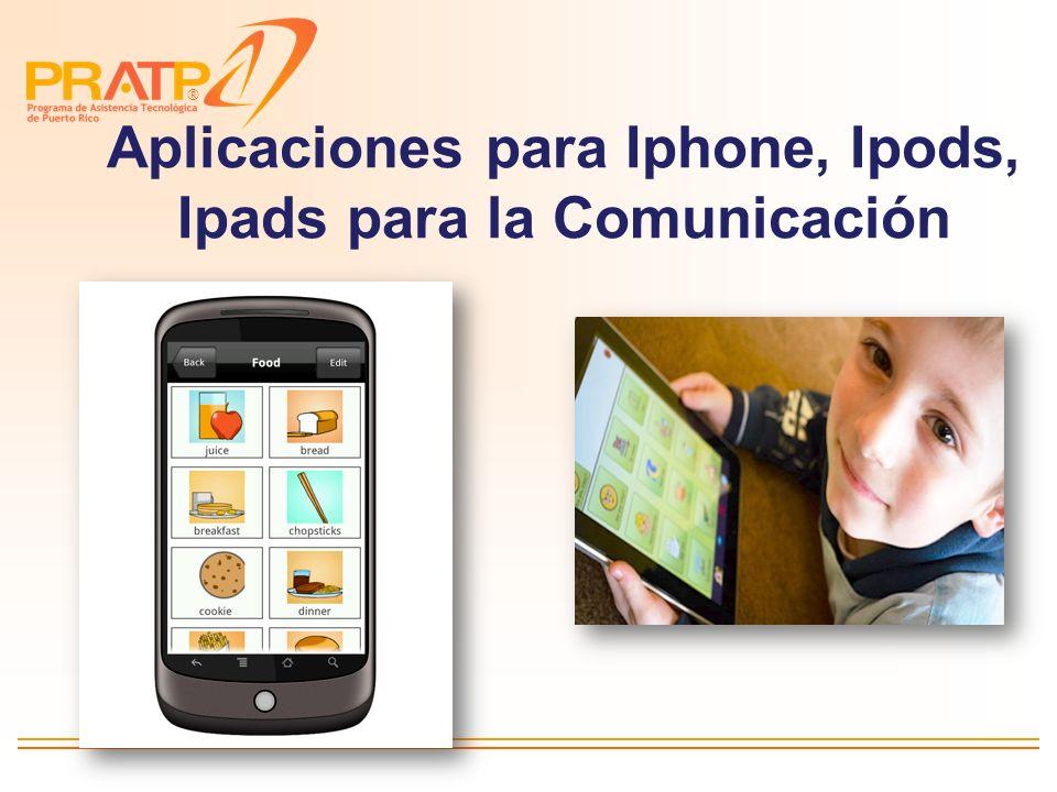 ® Comunicadores por Niveles Comunicadores por niveles Comunicadores de pantalla dinámica Equipos de Comunicación Aumentativa y Alternativa