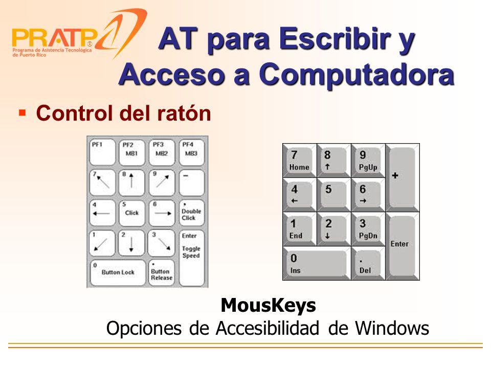 ® AT para Escribir y Acceso a Computadora Keyguard para facilitar la precisión al activar las teclas Cubierta de Teclas http://www.gokeytech.com