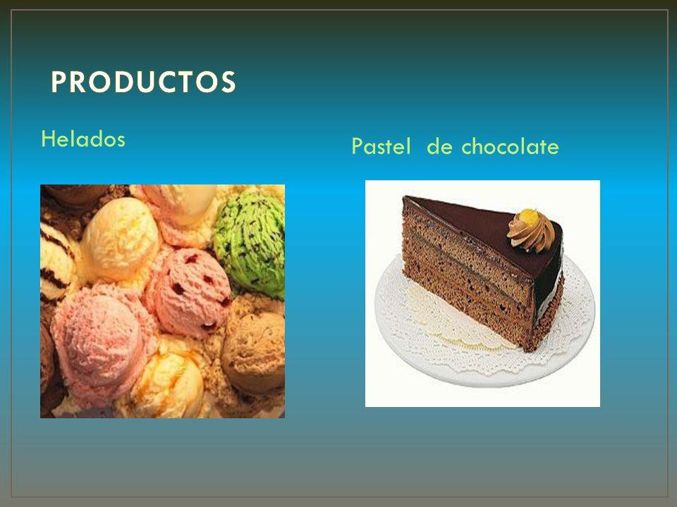 Helados Pastel de chocolate