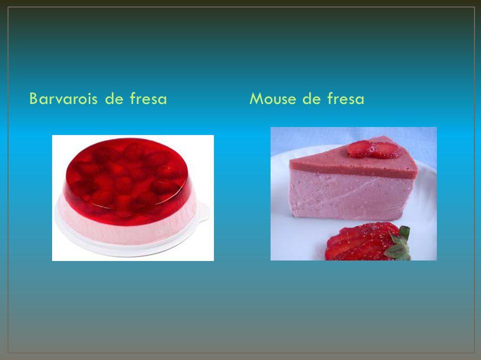 Barvarois de fresaMouse de fresa