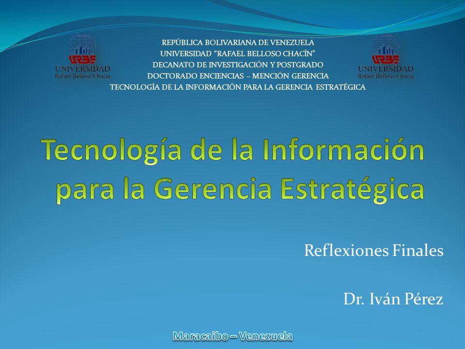 Reflexiones Finales Dr.