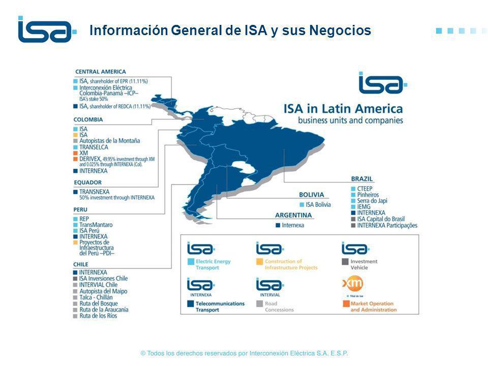 4/22 Información General de ISA y sus Negocios