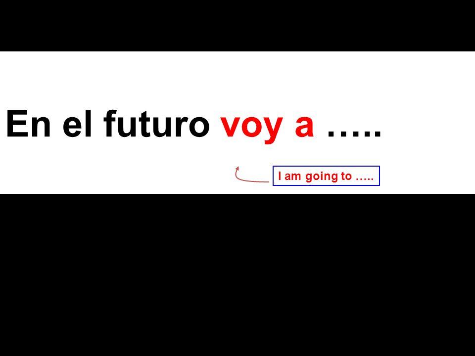 The endings for the future tense are the same for all verbs, regular or irregular (Yo ) (Tú ) (Él/Ella) (Nosotros) (Vosotros) (Ellos/Ellas) é ás á emos éis án