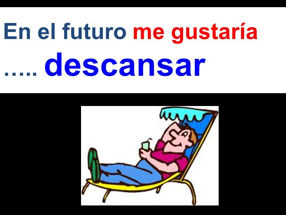 En el futuro quiero ….. continuar con mis estudios