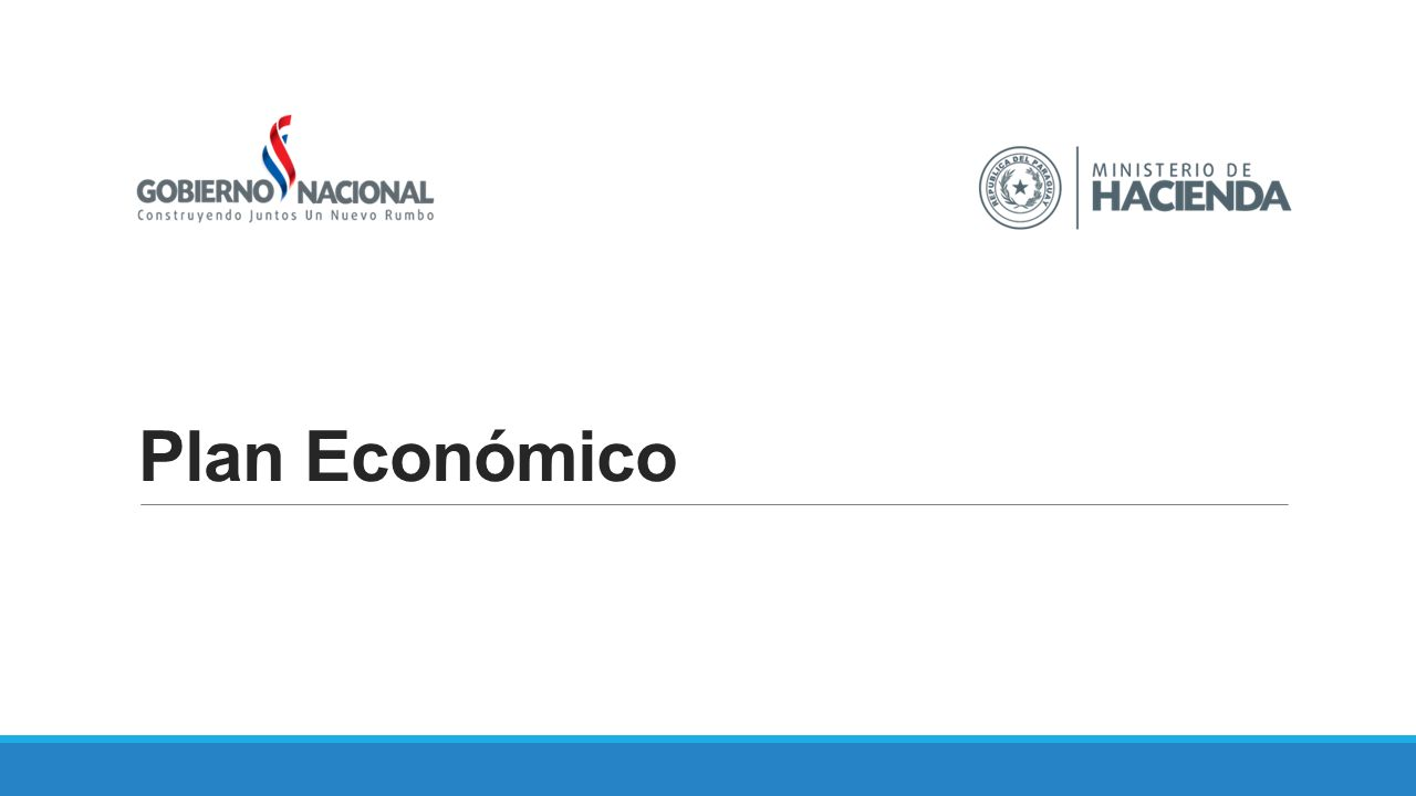 Politica Monetaria Equilibrio Fiscal de MP Mejorar gestión de proyectos APPs Financiación AFD Atracción de parques indust Mercado de Capitales Bonos Soberanos 10 Mercado de Capitales Reforma de Pensiones Formación de mano de obra calificada FONACIDE Programas Sociales