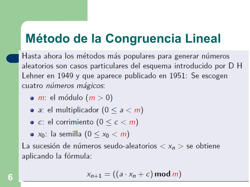 37 Generación de variables aleatorias discretas Suponga que un determinado fenómeno aleatorio tiene la siguiente distribución de probabilidad: 0 R 0.3 entonces x = 18 grs.