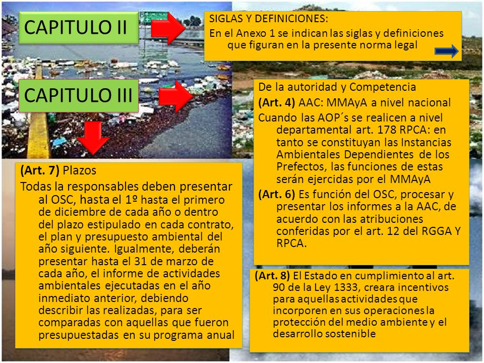 CAPITULO VI (Art.