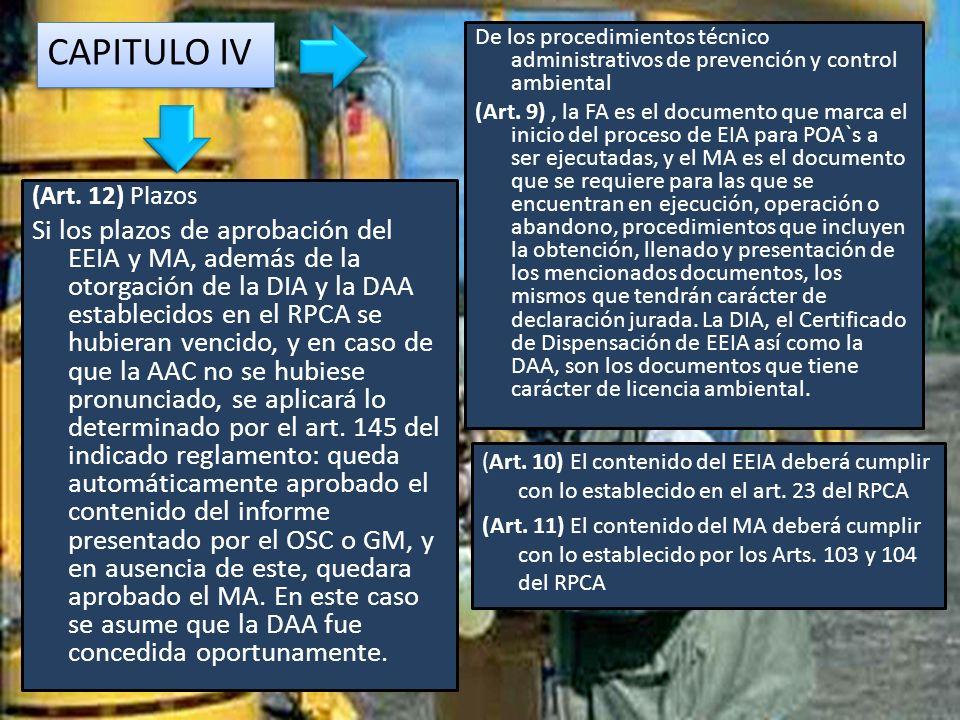 CAPITULO II (Art.