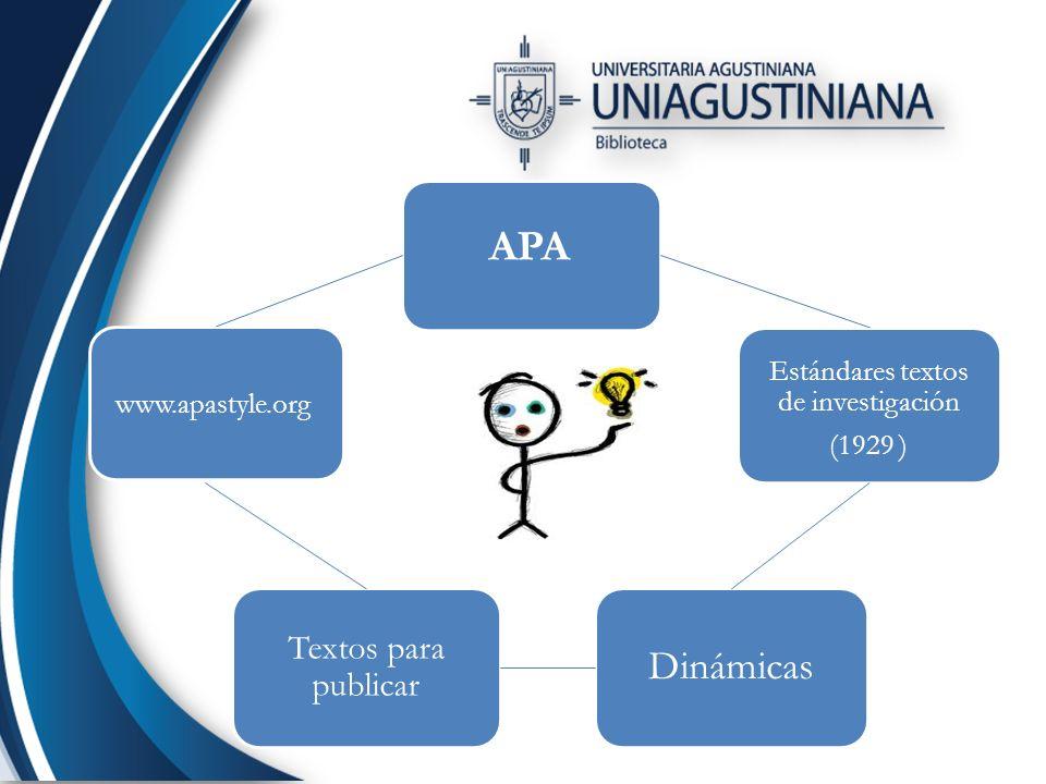 Ejemplos: Artículo de revista especializada: Ordóñez, C.L.