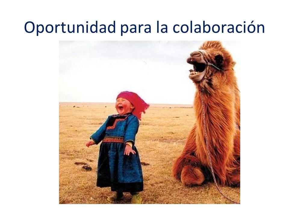 Oportunidad para la colaboración