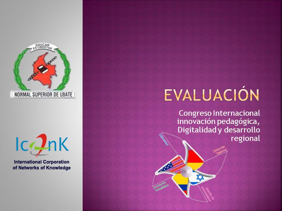 Congreso Internacional innovación pedagógica, Digitalidad y desarrollo regional