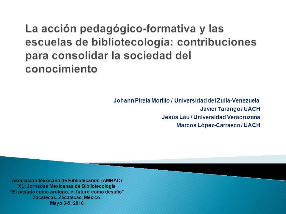 Johann Pirela Morillo / Universidad del Zulia-Venezuela Javier Tarango / UACH Jesús Lau / Universidad Veracruzana Marcos López-Carrasco / UACH Asociac