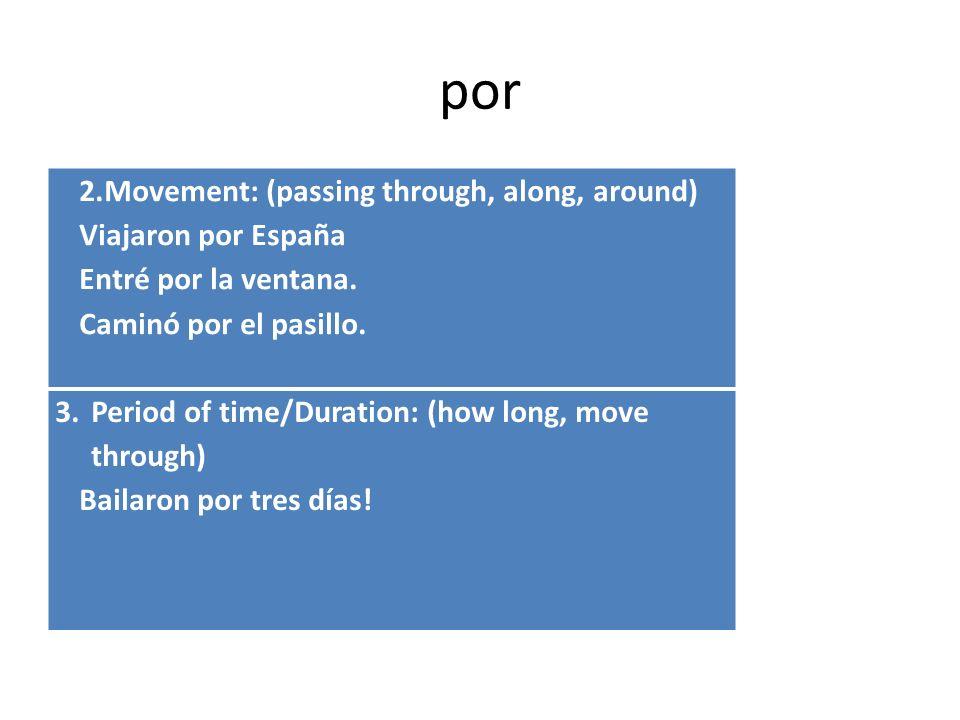 para 4.Comparison of inequality: Para cubano, habla muy bien el inglés.