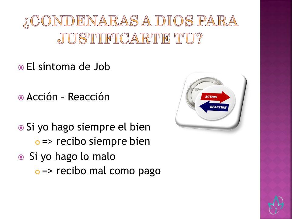 Este concepto de justicia condujo al hombre a ser independiente de Dios