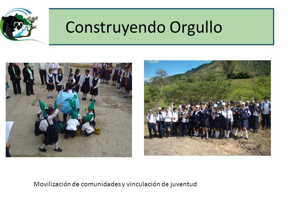 Construyendo Orgullo Movilización de comunidades y vinculación de juventud