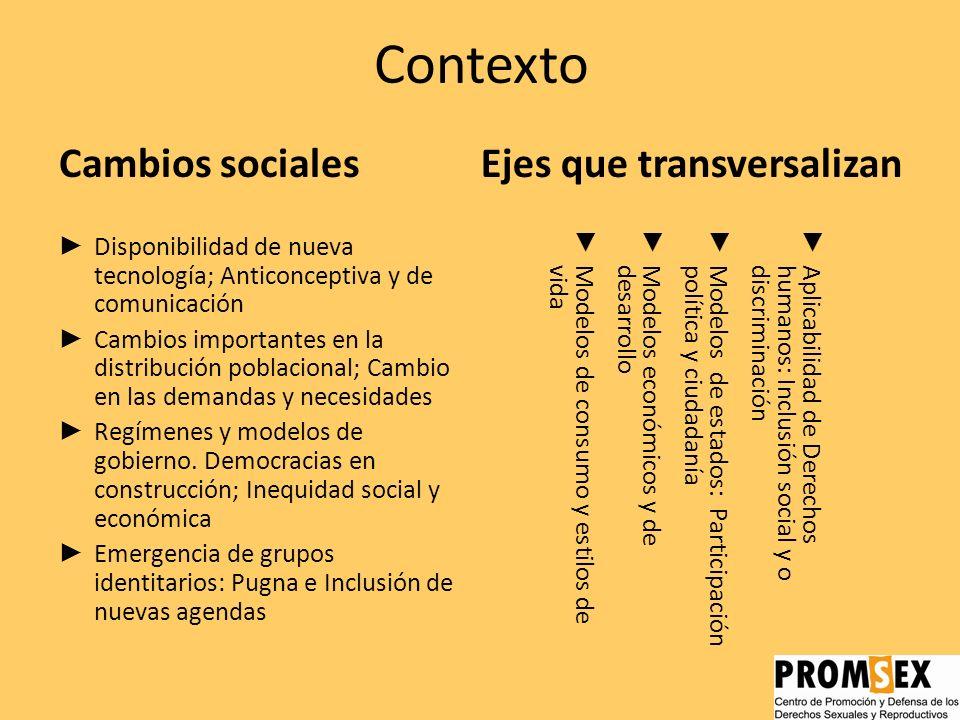 Los derechos sexuales y reproductivos; Breve análisis de los desafíos para su transformación en política pública La agenda pendiente en América Latina
