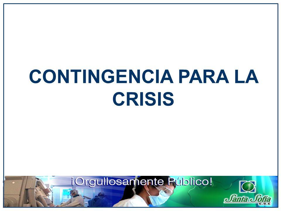 CONTINGENCIA PARA LA CRISIS