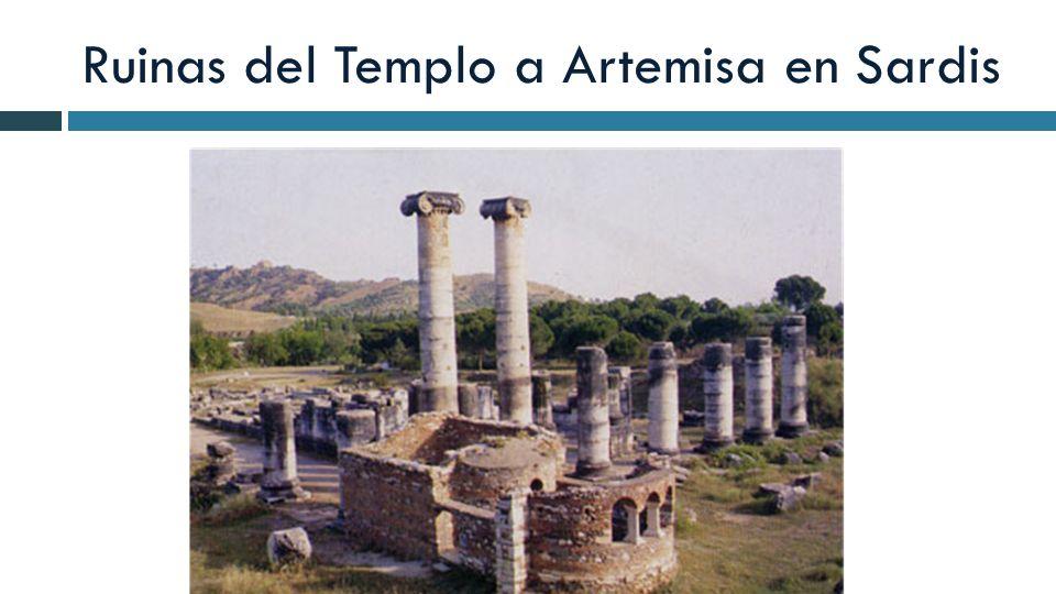 Ruinas del Templo a Artemisa en Sardis