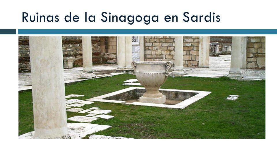 Ruinas de la Sinagoga en Sardis