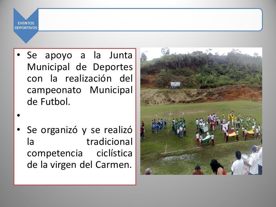 INPLEMENTOS DEPORTIVOS Se realizo la compra de diferentes implementos deportivos para ser entregados a los planteles educativos y a los clubes deportivos.