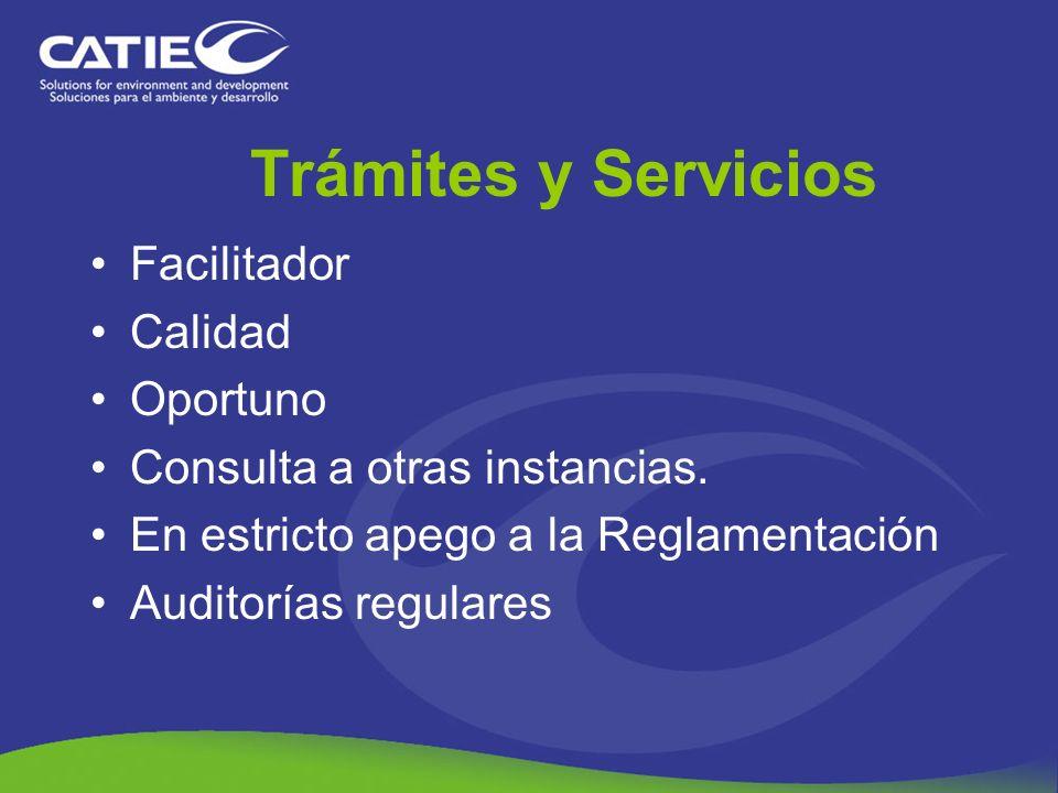 Facilitador Calidad Oportuno Consulta a otras instancias. En estricto apego a la Reglamentación Auditorías regulares