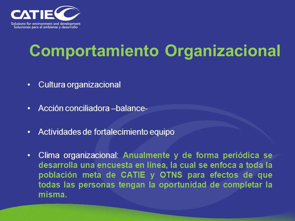 Cultura organizacional Acción conciliadora –balance- Actividades de fortalecimiento equipo Clima organizacional: Anualmente y de forma periódica se de