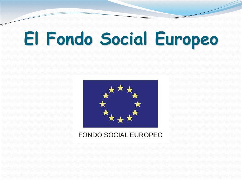 El Fondo Social Europeo
