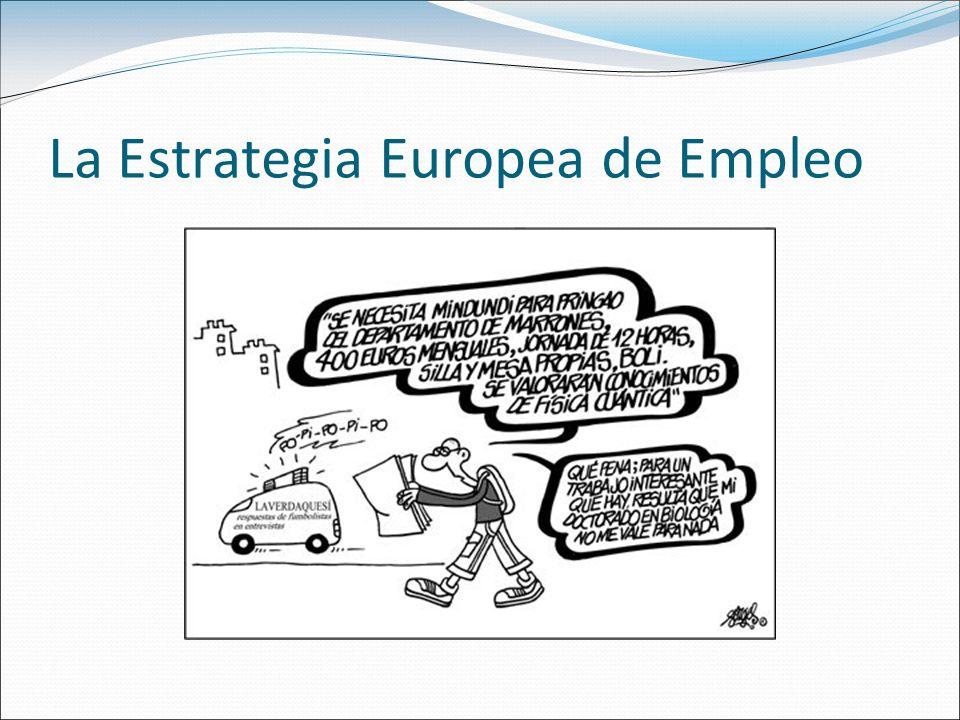 La Estrategia Europea de Empleo (1997-2005) El Consejo Europeo de Luxemburgo puso en marcha, en noviembre de 1997, la Estrategia europea de empleo (EEE) conocida también como «proceso de Luxemburgo».