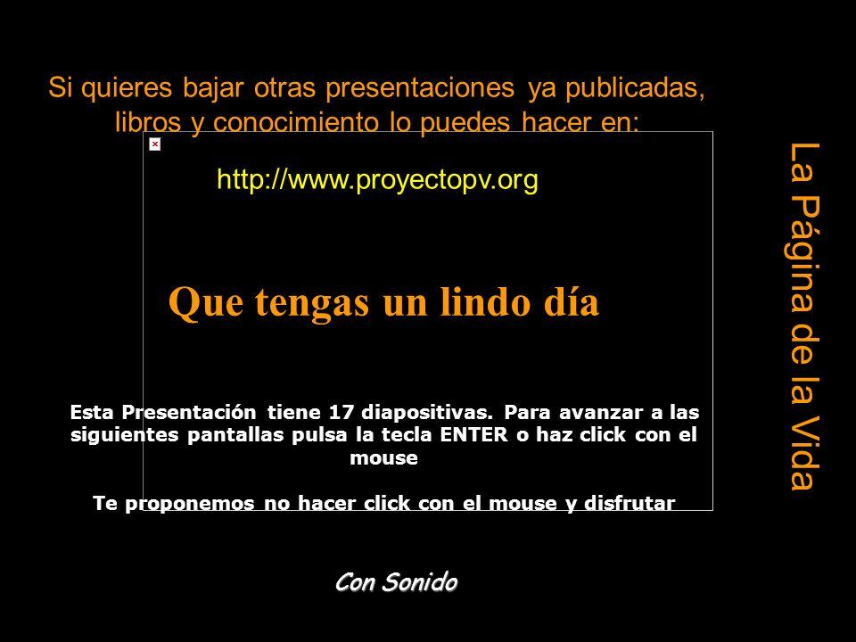 Ria Slides Si quieres bajar otras presentaciones ya publicadas, libros y conocimiento lo puedes hacer en: http://www.proyectopv.org Que tengas un lindo día Esta Presentación tiene 17 diapositivas.