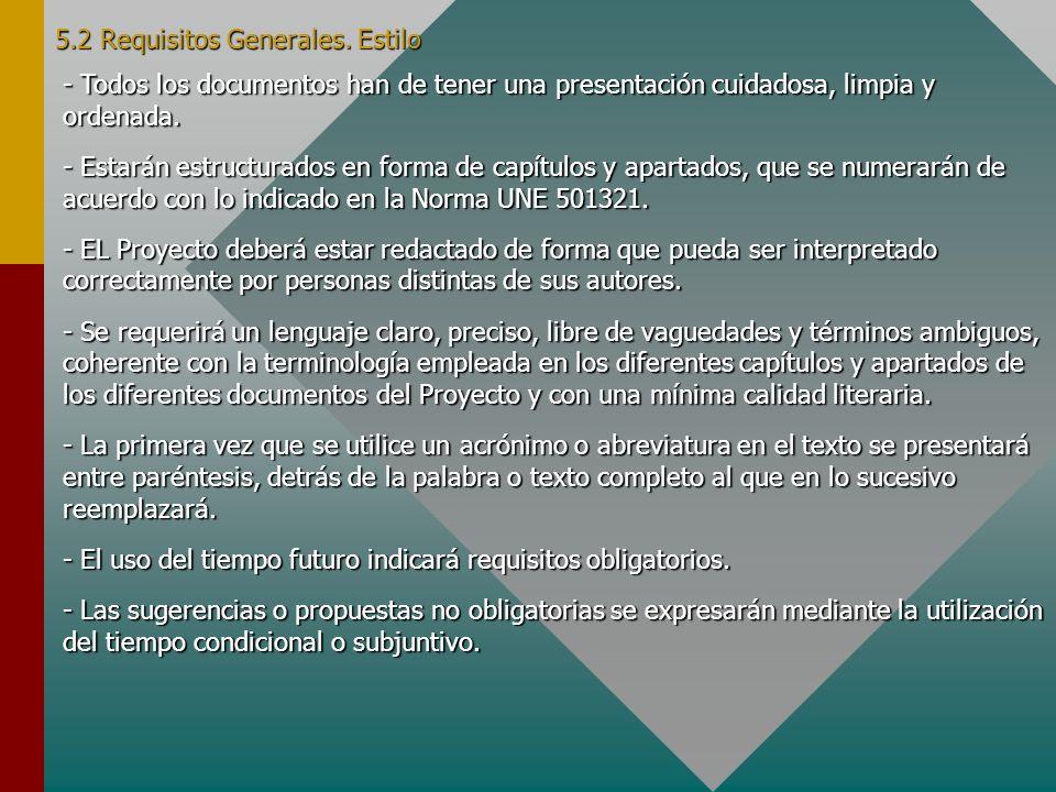 5.2 Requisitos Generales. Ejemplo Portada