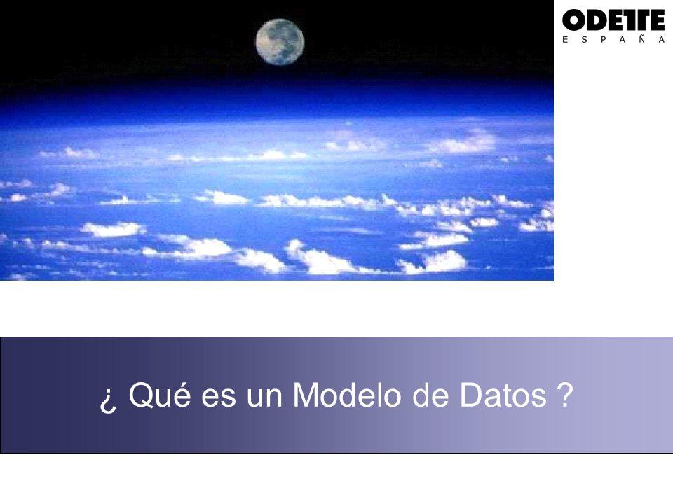 ¿ Qué es un Modelo de Datos ?