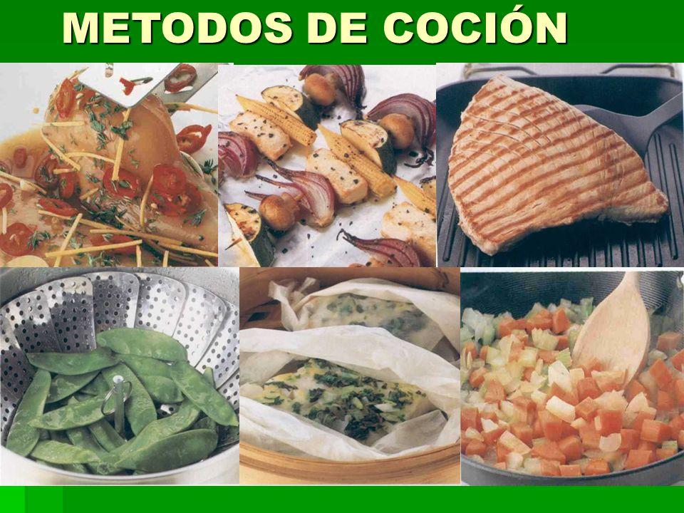 METODOS DE COCIÓN