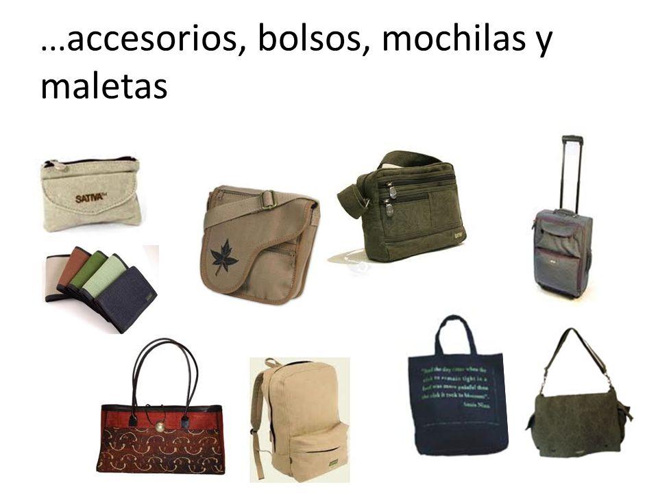 ... accesorios, bolsos, mochilas y maletas